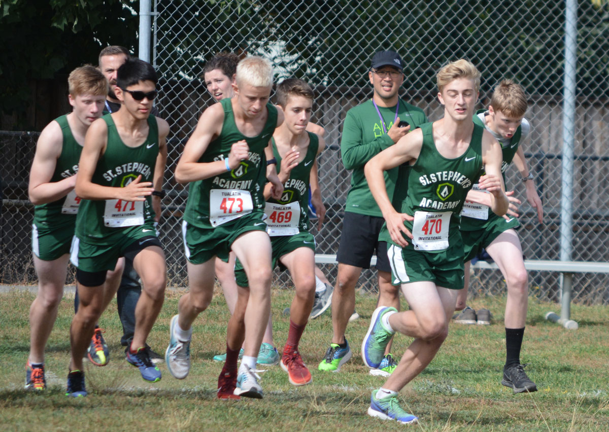 ST. STEPHEN'S ACADEMY | High School Cross Country 2017 Season